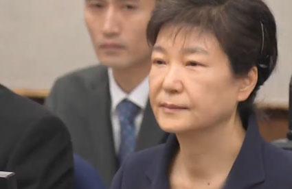 박근혜 前 대통령, 최순실 없이 두 번째 재판