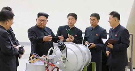 """""""北 수소탄 성공""""…폭발 위력 1차 실험의 50배"""