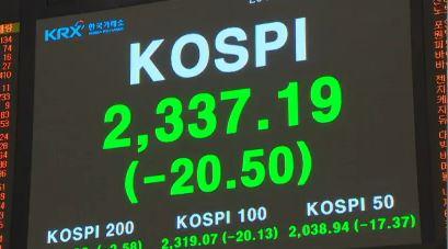 北 핵실험 금융시장 후폭풍…코스피 40p 급락