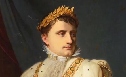 나폴레옹 '황금잎사귀' 경매 가보니