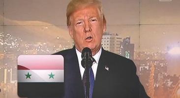"""美, 시리아 화학시설 공격…러 """"트럼프는 히틀러"""""""