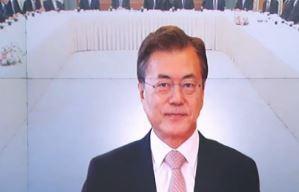 """文 """"北 비핵화 조건으로 미군 철수 제시 안 해"""""""