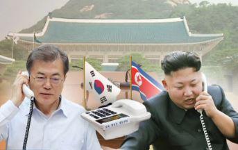 """""""여긴 청와대입니다""""…文 책상 위에 김정은 핫라인"""