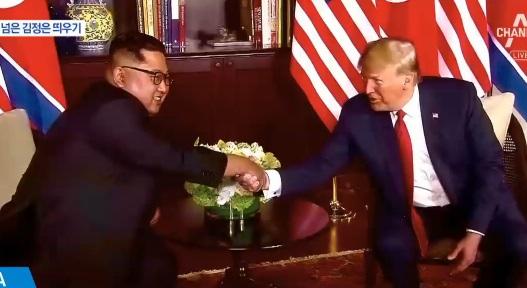 김정은 띄우는 트럼프…비핵화 협상에 달렸다
