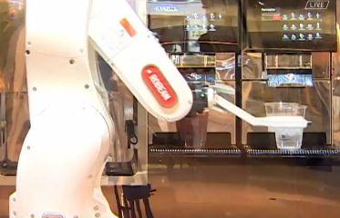 서빙·바리스타도 '로봇이 해요'…무인화 바람