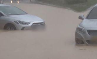 폭우에 차량 침수 비상…선루프 열면 보상 못 받아