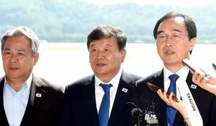 통일농구단 평양 도착…허재·리명훈 다시 만날까