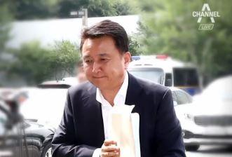 """김영환 경찰 출석 """"이재명, 피해자 코스프레 멈춰라"""""""