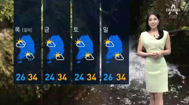 [날씨]광복절에도 불볕 더위…남부지방 비소식