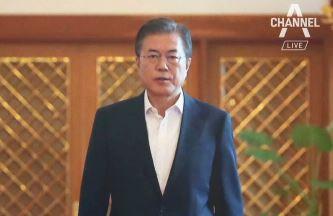 문 대통령 지지율 또 최저치…민주당도 40%선 붕괴