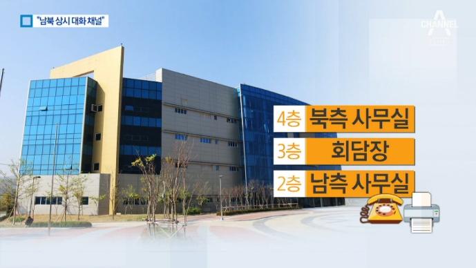 2층은 남측·4층은 북측…개성 연락사무소 개소