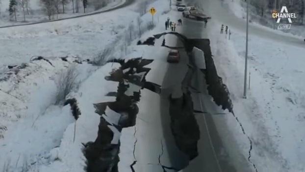 알래스카 규모 7.0 강진…공항·도로 폐쇄