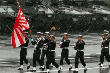 """""""우리는 일본 해군"""" 외친 자위대…야욕 드러낸 셈?"""