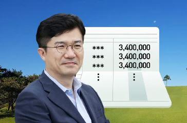 '골프장 월급' 송인배, 재판 받는다…정치자금법 위반 ....