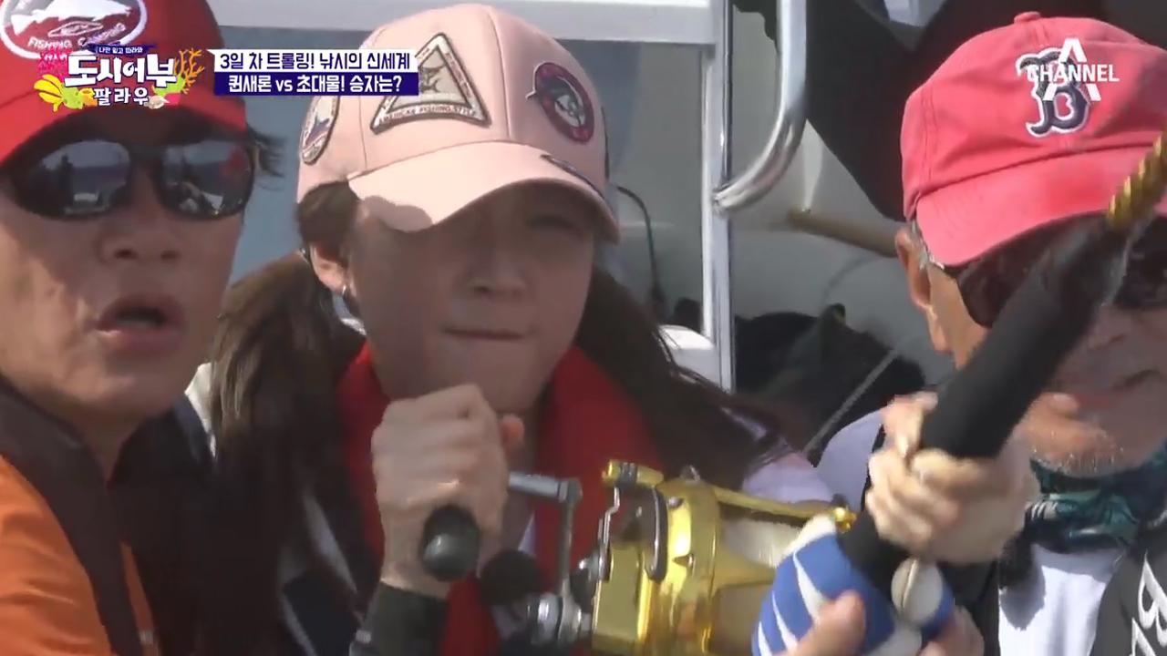 어복천재 김새론 가즈아~! 팔라우 '괴물 고기'와의 大....