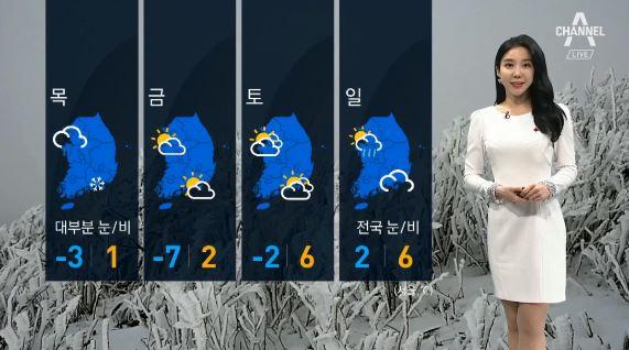 [날씨]서울·중부 미세먼지 '나쁨'…곳곳 눈·비소식
