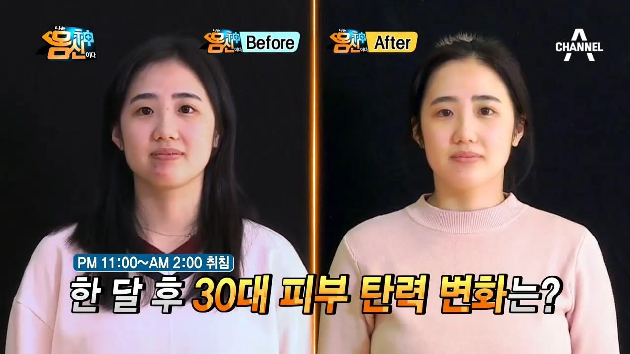 '시간제한 피부관리법' 체험단의 놀라운 변화! 탄력부터....
