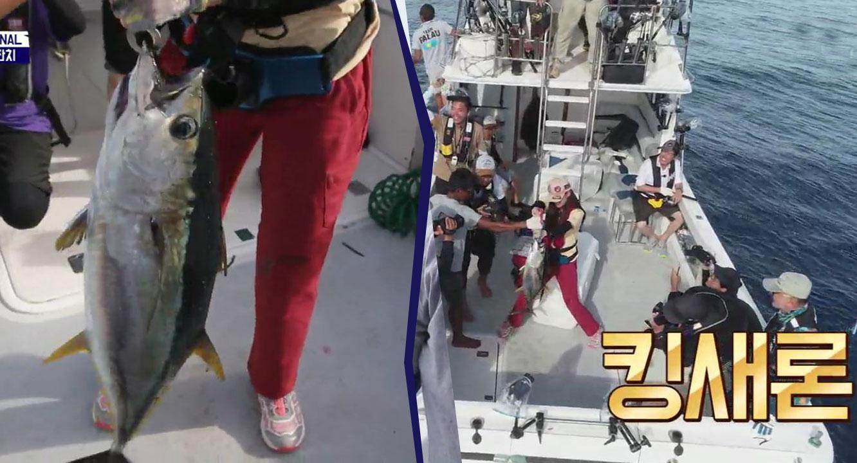 행운의 아이콘 김새론이 가져온 大물 참치♡ (참치 2마....