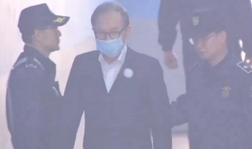 '구속 1년' MB, 석방되나…보석 여부 오늘 판가름