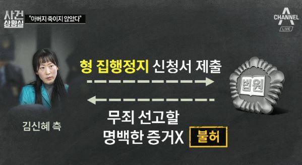 """""""아버지 죽이지 않았다""""…김신혜, 19년 만에 재심"""