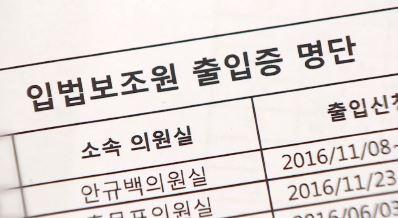 [단독]선물 주듯 나눠준 입법보조원…84명 출입증 반납