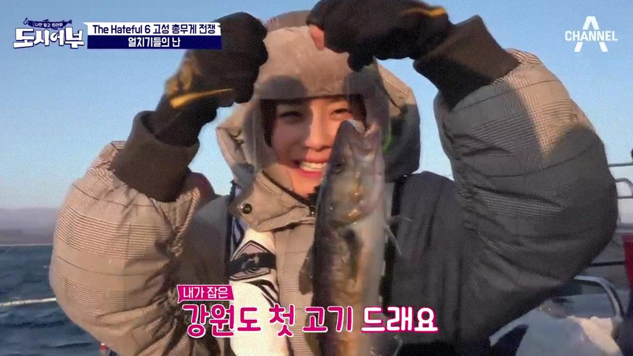 고성 바다에 나타난 낚시 얼치기들 (ㅋㅋ) 장도연 첫 ....