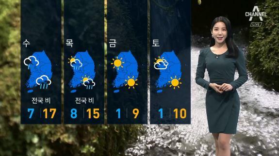 [날씨]내일 서울 17도 '포근'…이번 주 후반 '반짝....