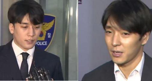 """[속보]""""승리·최종훈, 다른 대화방에 불법 촬영물 유포...."""
