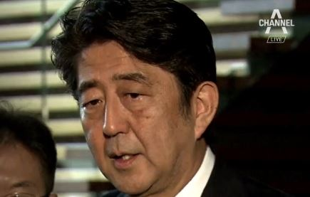 역전패 충격 아베, 후쿠시마 원전 방문 …'수입 분쟁'....