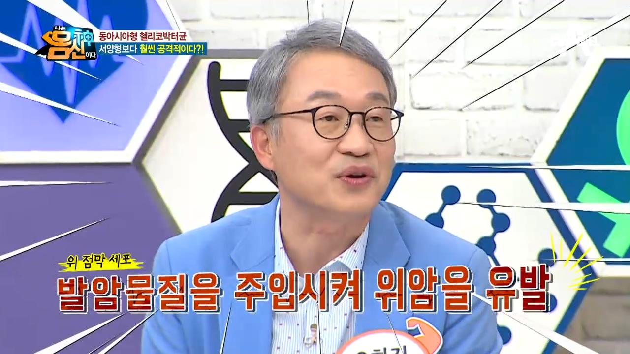 한국인 2명 중 1명이 가진 '헬리코박터균' 위암의 원....