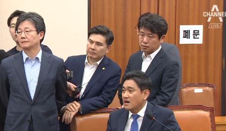 김관영의 폭주?…오신환·권은희 사보임