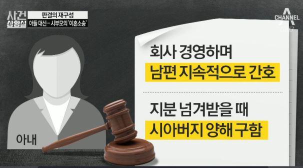 [판결의 재구성]'의식불명' 아들 대신…시부모의 '이혼....