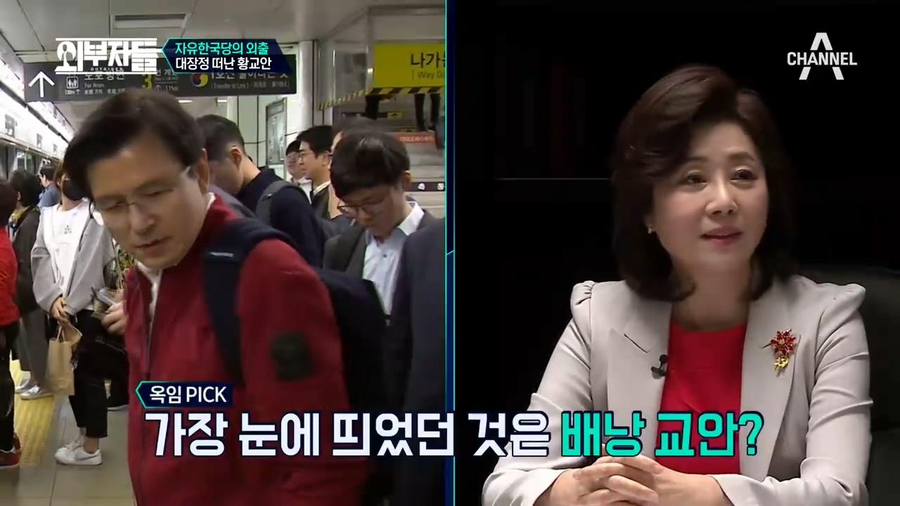 '자유한국당의 외출' 대장정을 떠난 황교안! 민생투쟁대....