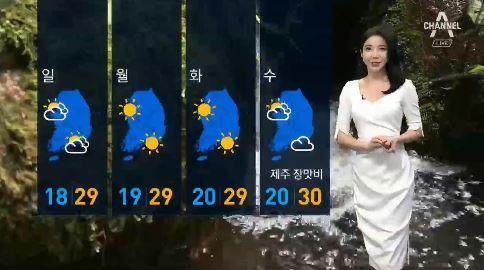 [날씨]주말 벼락·돌풍 동반한 비…일요일 소나기