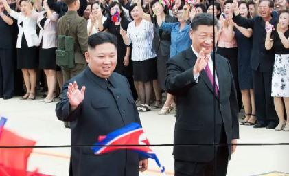 밀착하는 북-중…단둥 세관 앞 북한가는 관광객 '인산인....