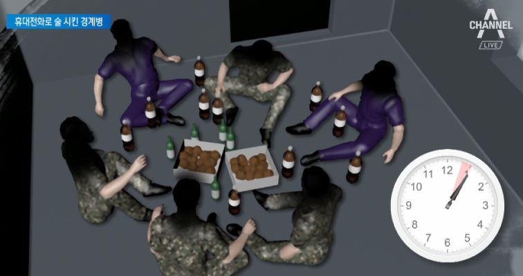 경계 초소 비운채 '술판'…얼 빠진 해군 한달 간 '쉬....
