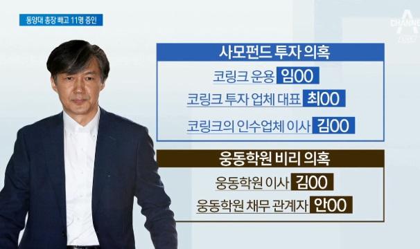 여야, '조국 청문회' 증인 11명 합의…동양대 총장 ....