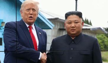 """트럼프 """"3년간 김정은과 좋은 관계"""" 최대 치적 꼽아"""