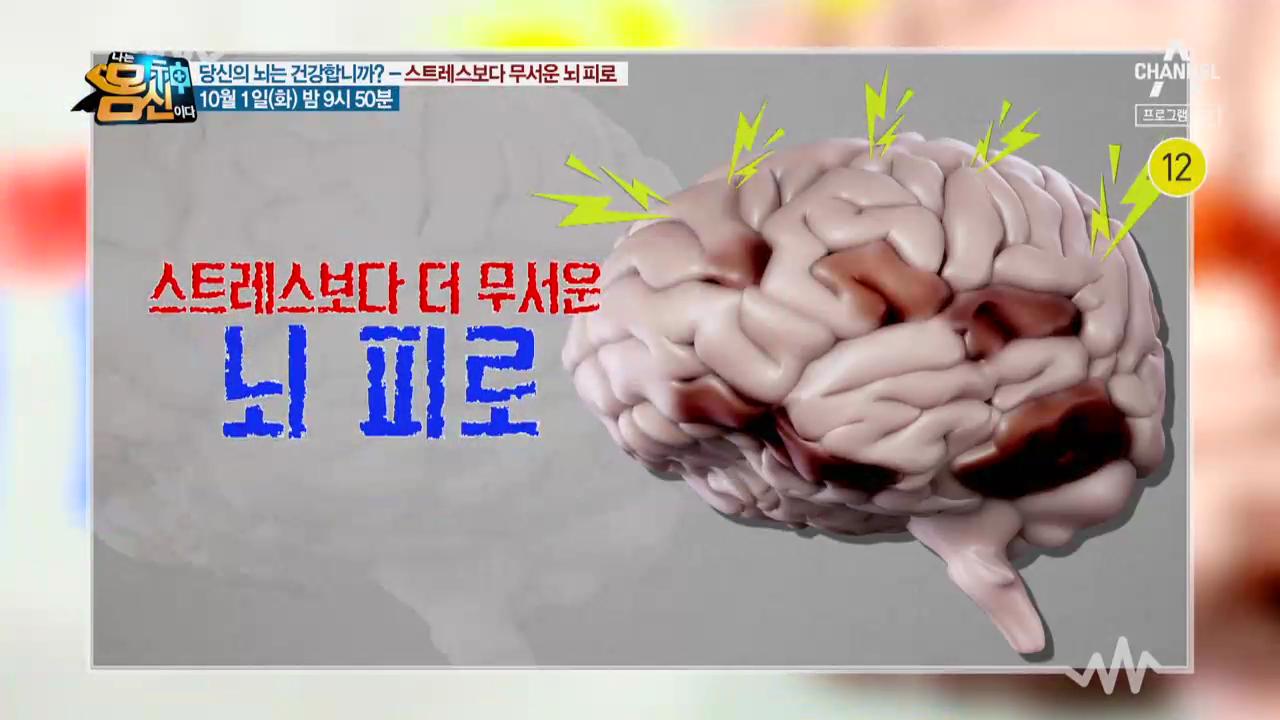 [예고] 스트레스 보다 더 무서운 뇌 피로!