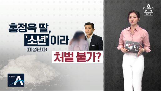 [팩트맨]'마약 반입' 홍정욱 딸, '소년'이라 처벌 ....