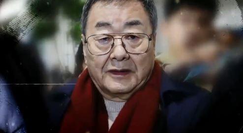 """김준기 전 회장 '입국장 체포'…""""성폭행 인정 못해"""""""