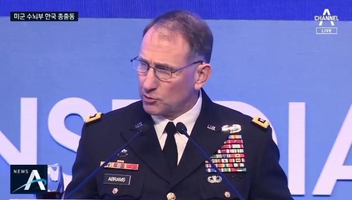 미군 서열 1·2위 한국 총집결…방위비·지소미아 전방위....