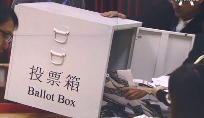 홍콩 구의원 선거, 반중파 86% 싹쓸이…친중파 참패