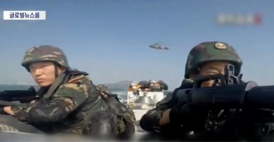 [글로벌 뉴스룸]홍콩 인근 해역서 중국군 훈련 영상 공....