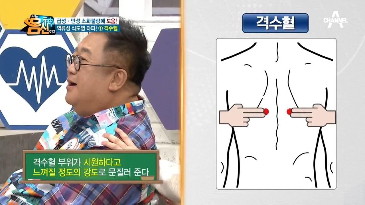 급성, 만성 소화불량을 싹~ 낫게할 응급처치 혈자리인 ....