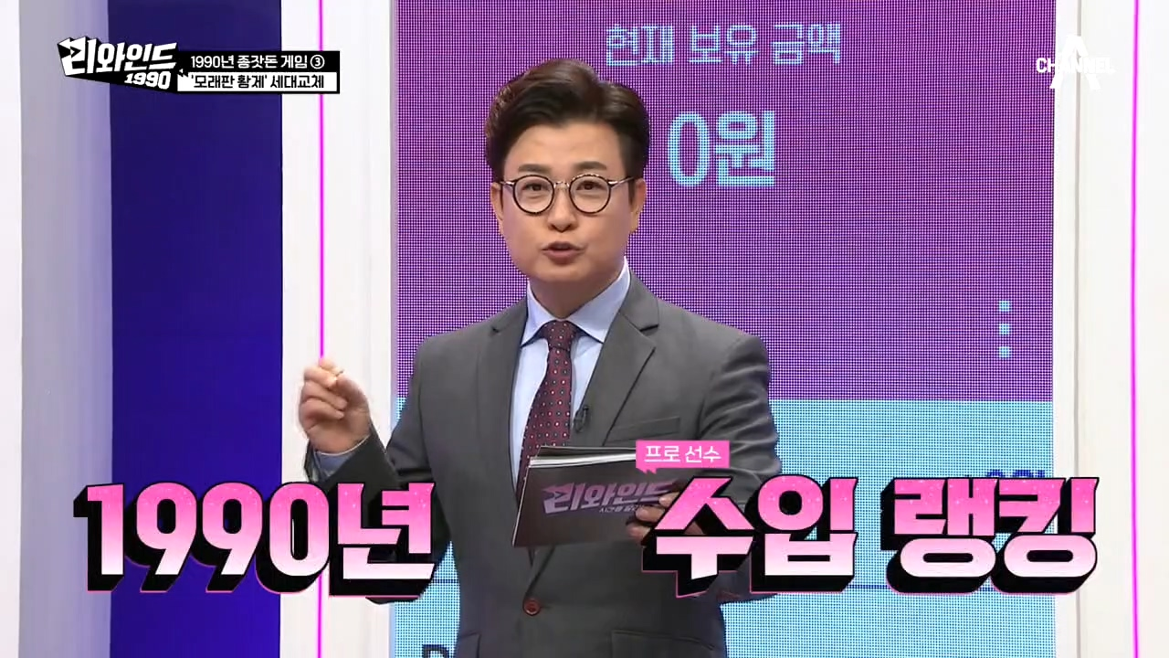 [Q] 1990년 스포츠 스타들 중 연봉 8위 강호동!....