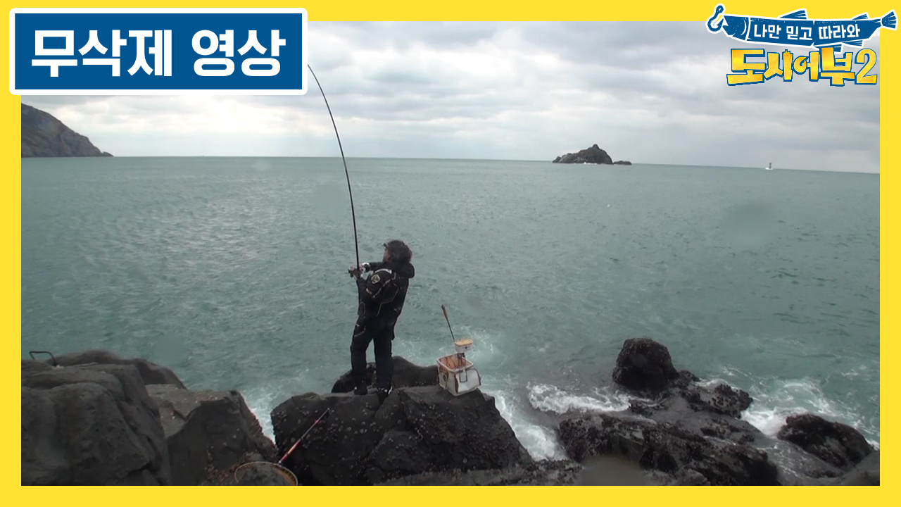 [무삭제 영상] 박진철 프로 5짜 감성돔 직캠