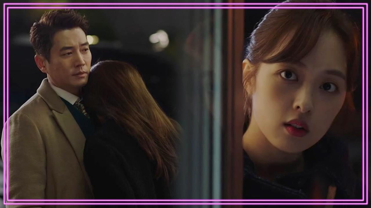 [멘붕엔딩]주상욱에게 안긴 한다감...두 사람을 바라보는 김보라