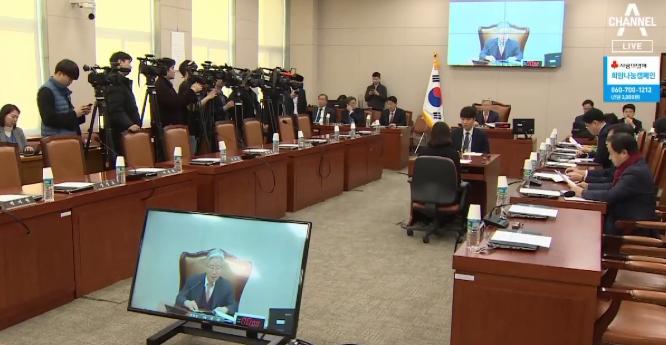 [순간포착]한국당의 '나홀로 법사위'