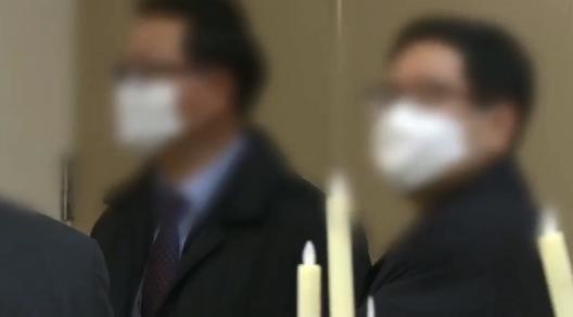 """[리액션 뉴스]""""신종코로나 때문에""""…마스크 쓴 하객들"""